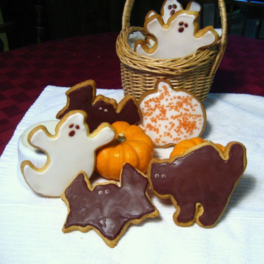 Halloween sugar cookies
